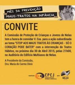 Convite CPCJ