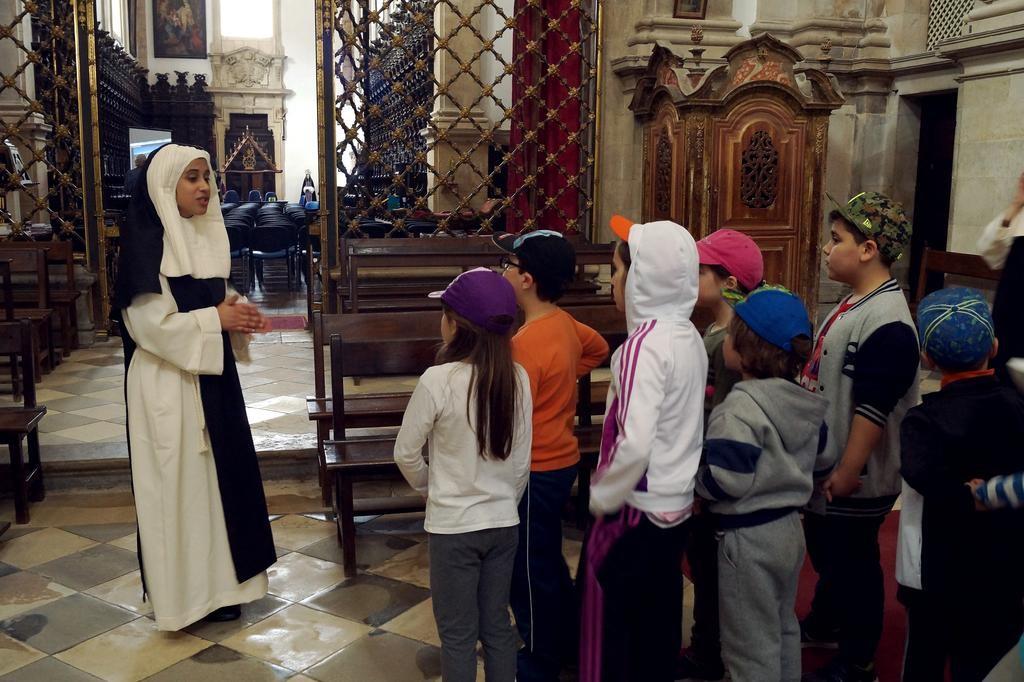Projeto PENANIMA promove visita animada ao Mosteiro de Lorvão