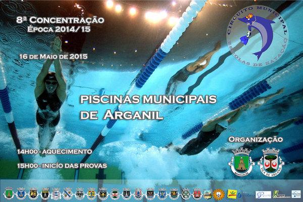 Arganil vai acolher a 8ª Concentração do Circuito Municipal de Escolas de Nataçã