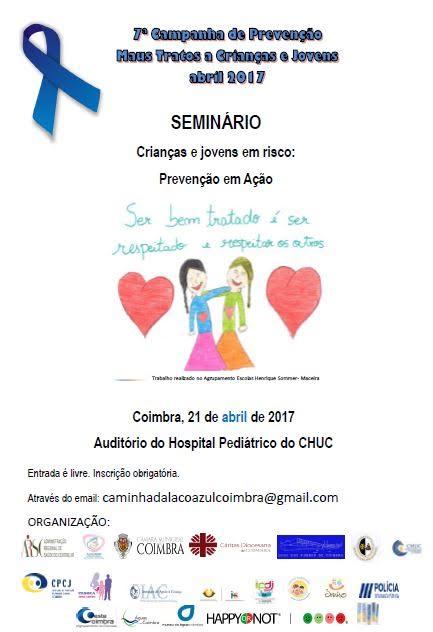 Seminário Prevenção Maus Tratos a Crianças e Jovens | 21 de Abril