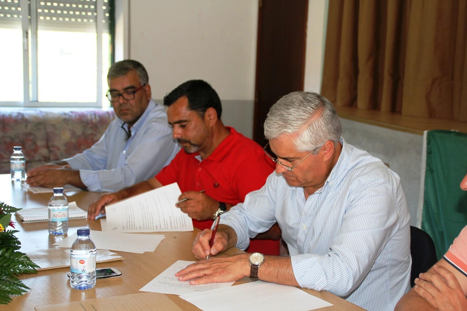 Município de Tábua assina Contrato de Adjudicação do Saneamento de Sevilha, Vale de Taipa e Babau