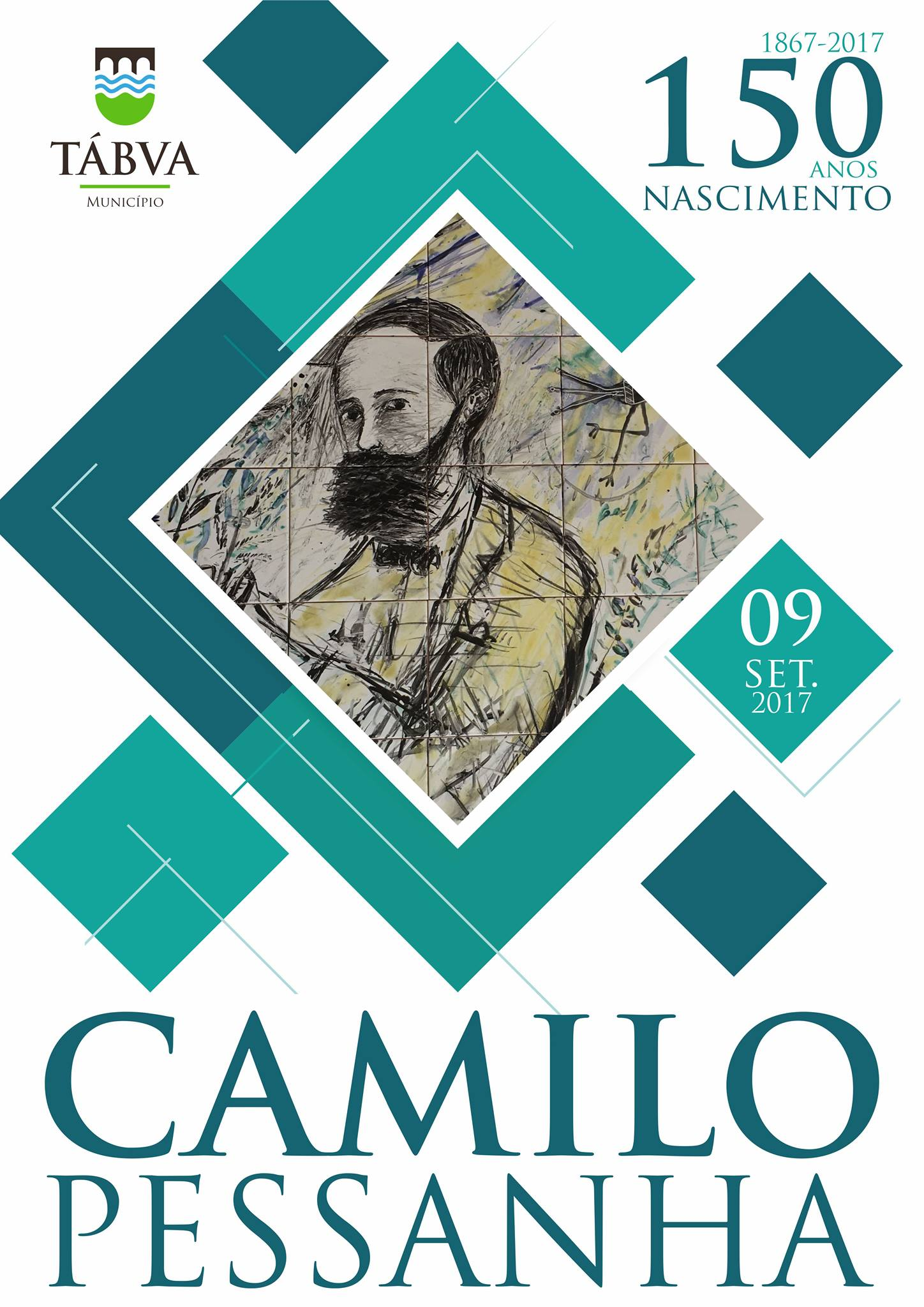 150 anos dos nascimento de Camilo Pessanha em Tábua