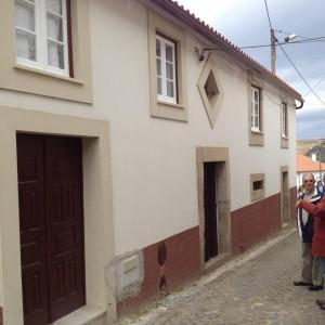 Casa que adquiriram