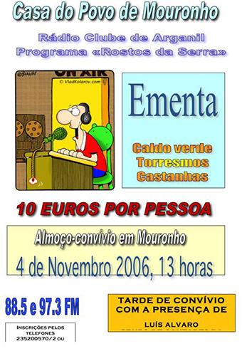 Programa Rosto da Serra 2006