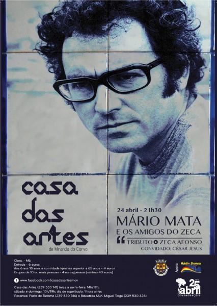 Mário Mata e os Amigos do Zeca | 24 de Abril 2015