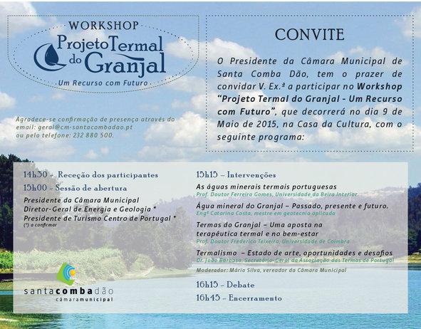 Projeto Termal do Granjal - um recurso com futuro