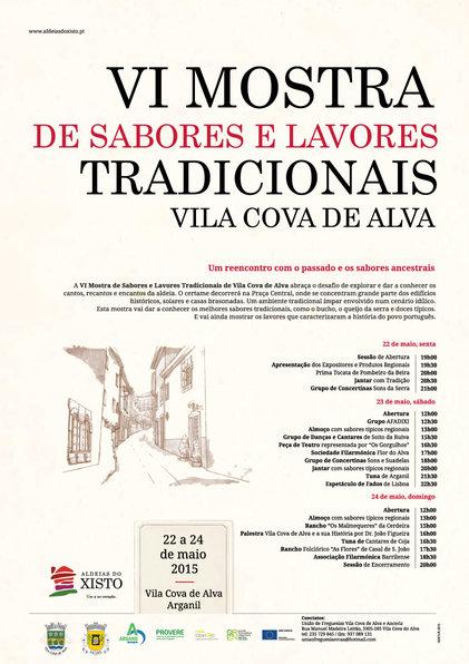 Sabores e Lavores Tradicionais - Vila Cova de Alva