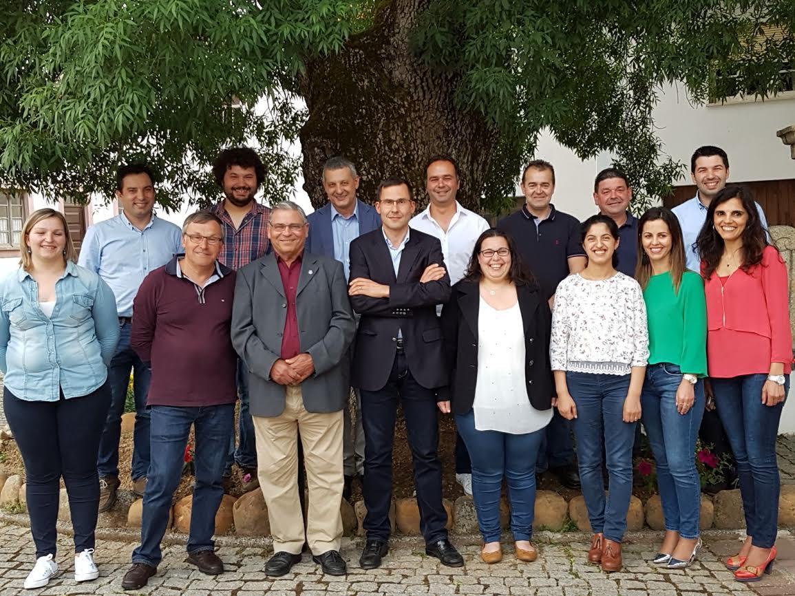 Luís Paulo Costa reúne com a Equipa que se candidata à Junta de Freguesia de São Martinho da Cortiça
