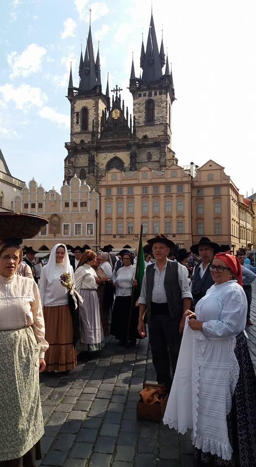 Grupo Folclórico da Região de Arganil esteve em Praga