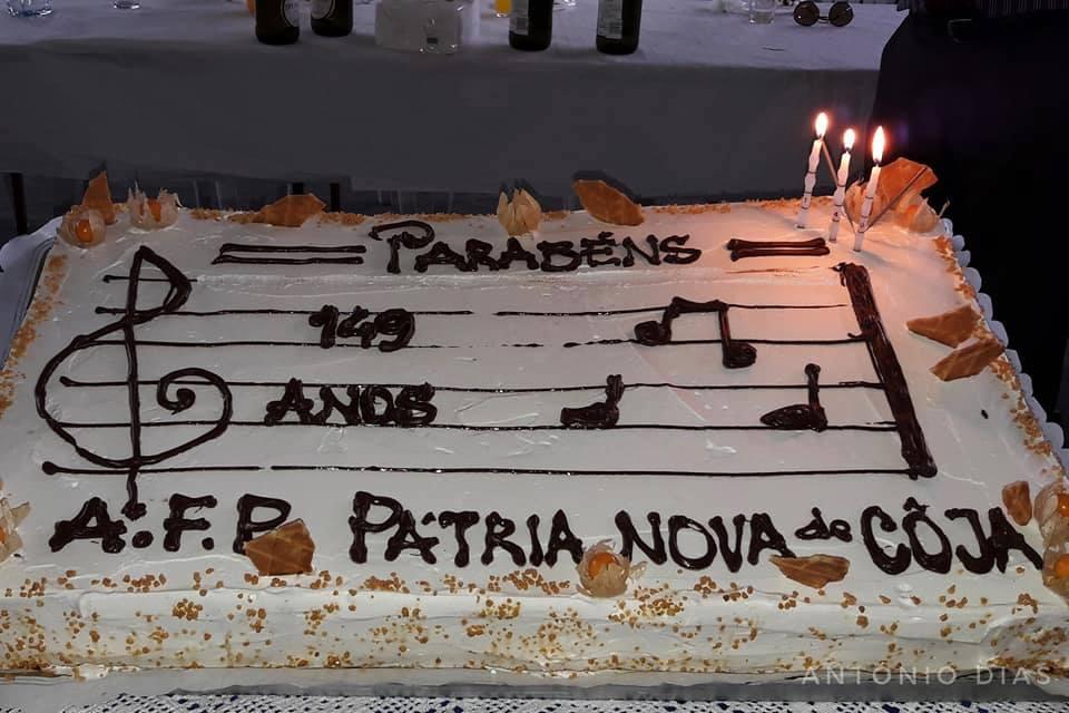 Filarmónica Progresso Pátria Nova de Coja celebrou 149 anos e apresentou quatro novos instrumentos