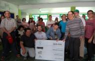 Arganil Rock entregou um cheque de 500 euros á APPACDM de Arganil